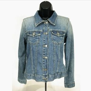 Old Navy Denim Trucker Jean Jacket Womens Sz S